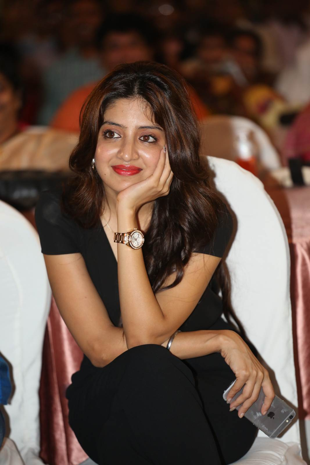 Poonam Kaur Unseen Stills, Poonam Kaur hot Pics in black Dress from 365 Days Movie Audio Launch