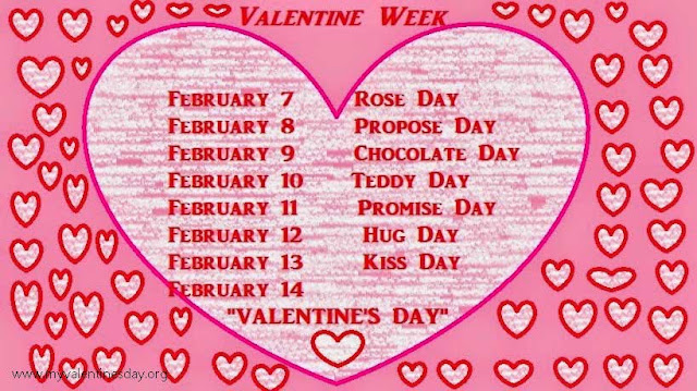 February Love Day List