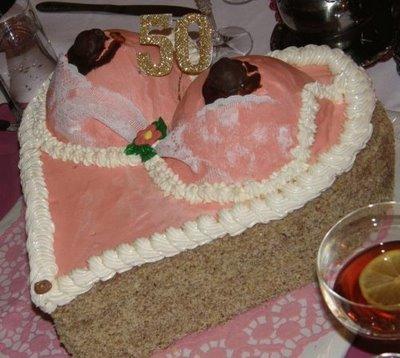 Naughty Birthday Cake Design Funny