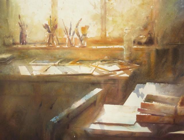 David Chauvin watercolour