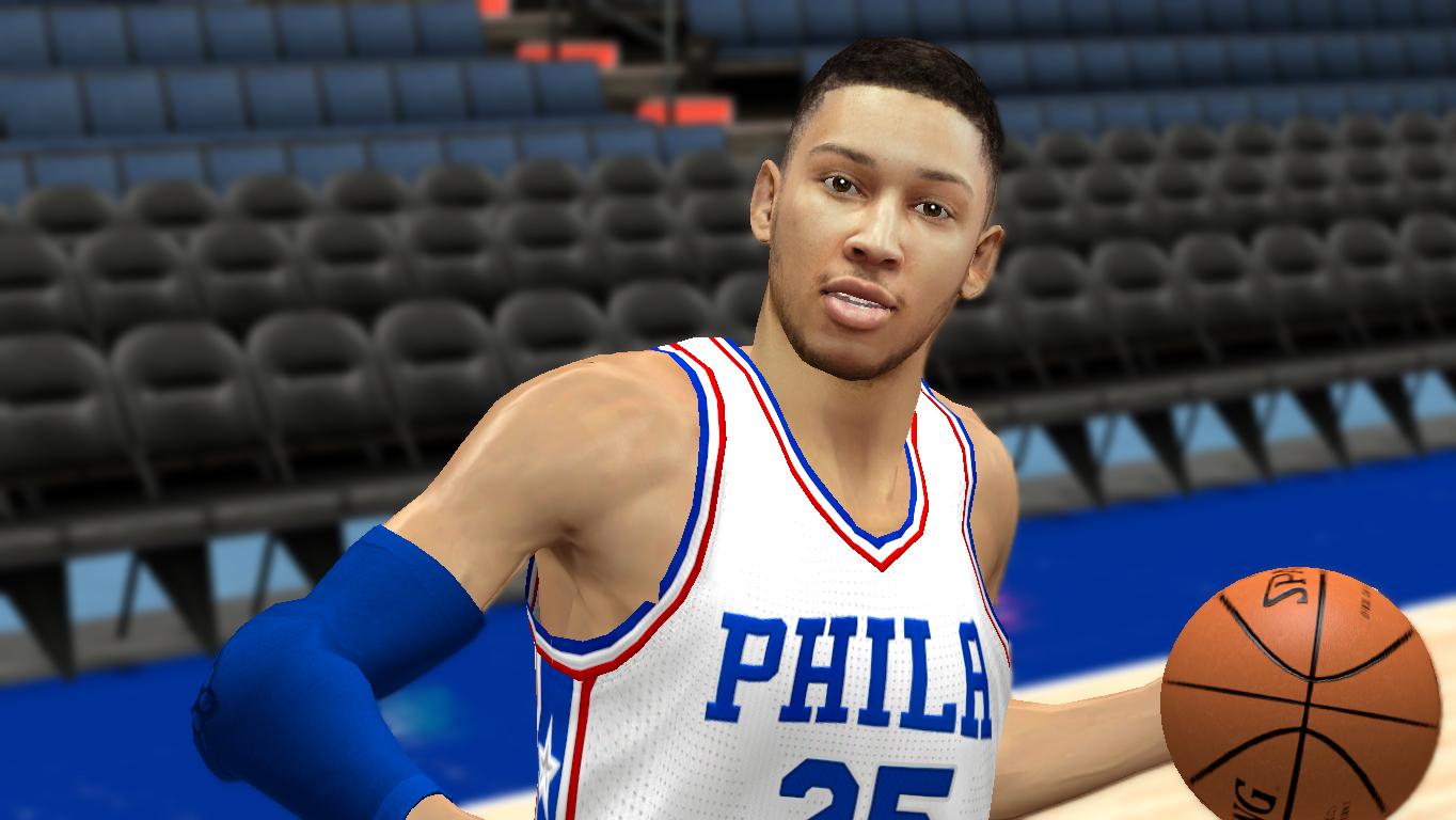 Ben Simmons Cyberface HD [FOR 2K14] - NBA 2K Updates, Roster Update, Cyberface, Etc