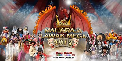 Tonton Video Maharaja Lawak Mega 2018 (Minggu 1 - 14)