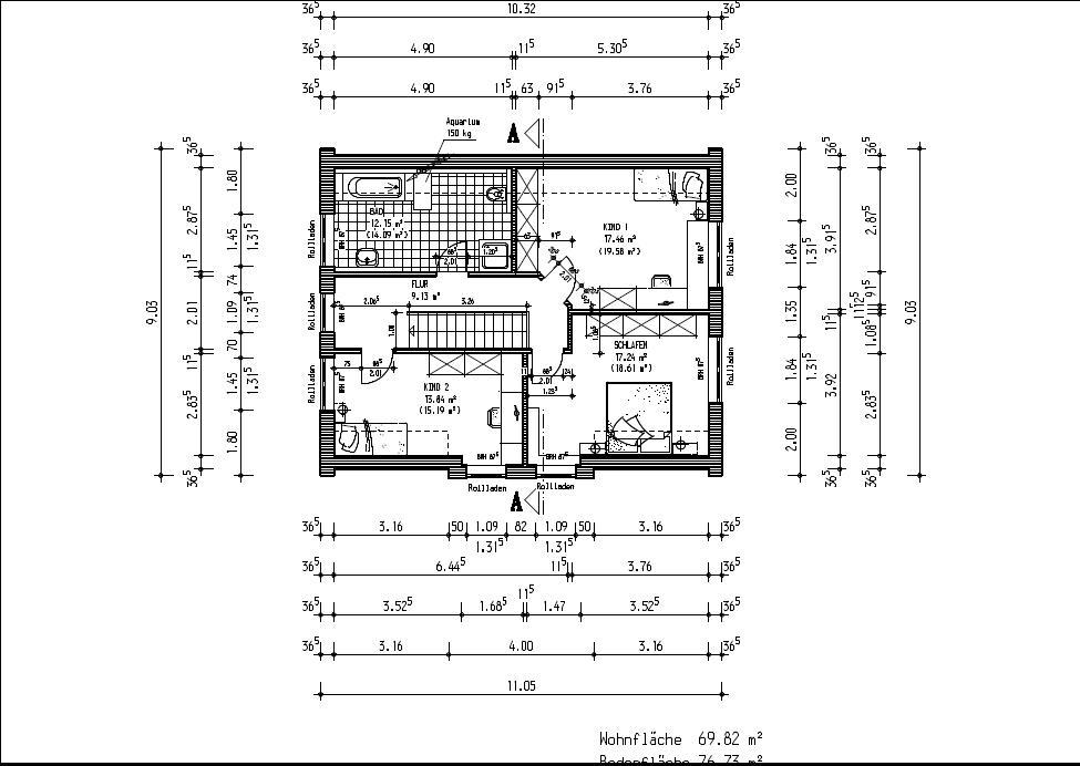 jenny und stefan bauen ein haus grundrisse. Black Bedroom Furniture Sets. Home Design Ideas
