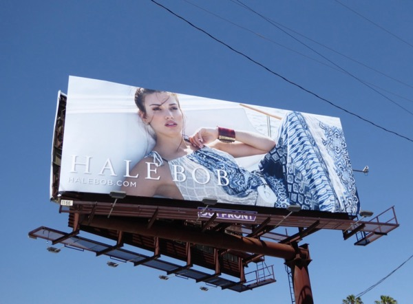 Hale Bob Spring 2017 fashion billboard