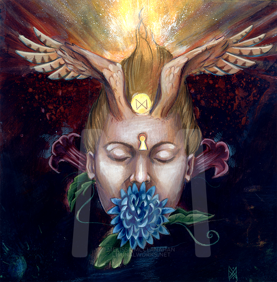 Silence by Enchanted Visions artist, Melissa McClanahan