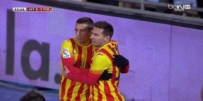 Copa Del Rey : Getafe 0 vs 2 Barcelona 16-01-2014