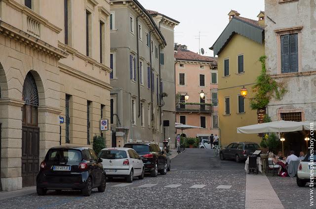 Cenar comer en Verona viaje Italia