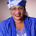 "Minister of Women Affairs, Alhassan denies reports she slumped at IDP camp. ""It was stuffy and I had to sit down"""