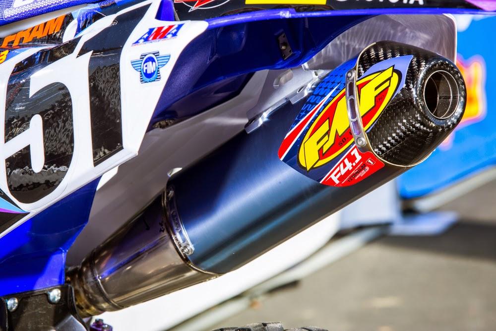 Bell Racing Helmets >> Racing Cafè: Yamaha YZ 450F Team JGRMX - Supercross USA 2015