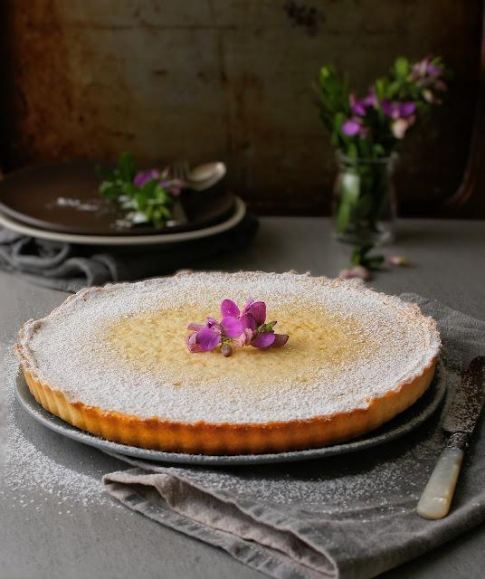 A classic lemon tart