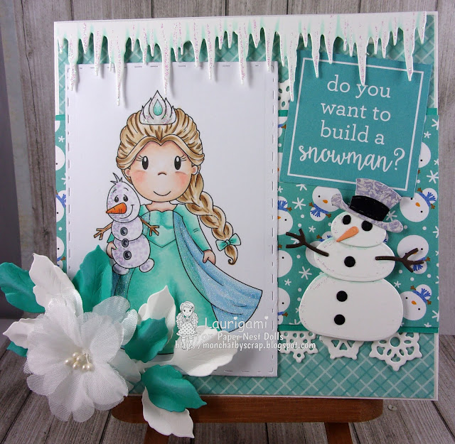 Ice Princess #Papernestdolls | By Laurigami