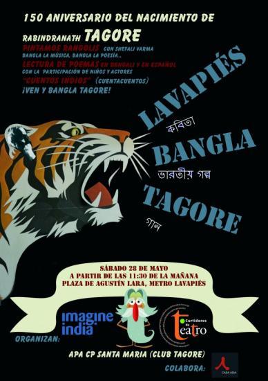 Año Tagore en Lavapiés