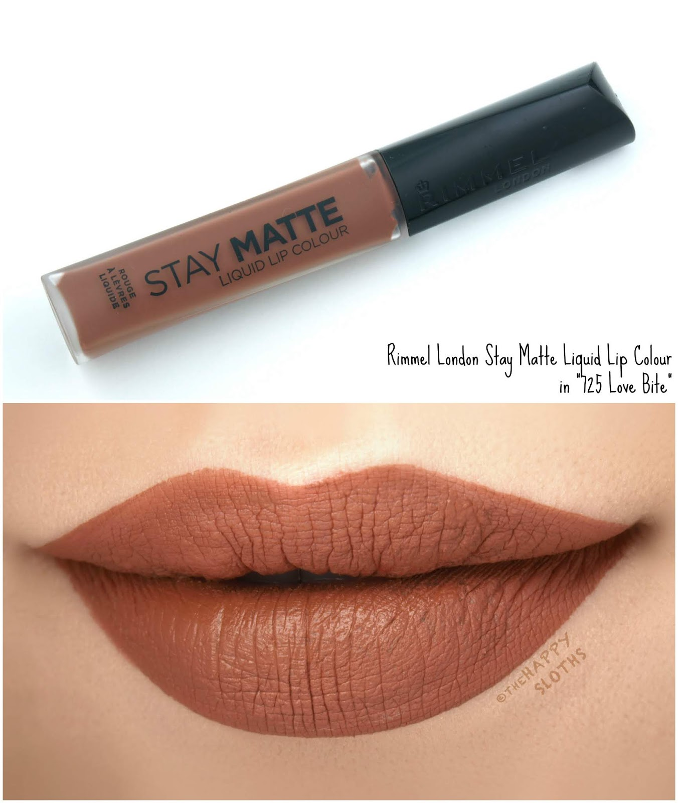 "Rimmel London | Stay Matte Liquid Lip Colour in ""725 Love Bite"": Review and Swatches"