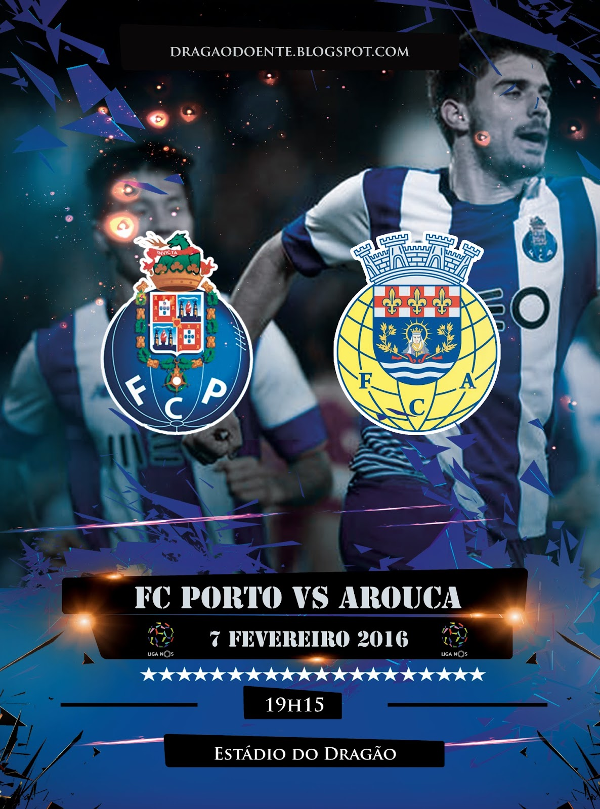 Arouca vs porto resumo