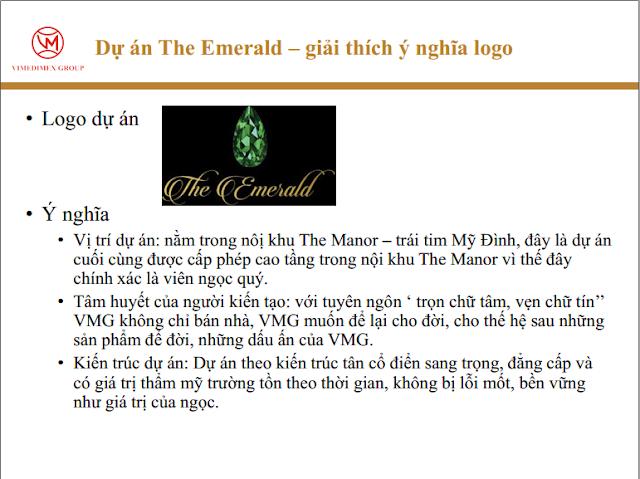 Ý nghĩa logo The Emerald