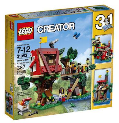 TOYS : JUGUETES - LEGO Creator  31053 Aventuras en la Casa del Árbol   Treehouse Adventures  Producto Oficial 2016 | Piezas: 387 | Edad: 7-12 años  Comprar en Amazon España & buy Amazon USA