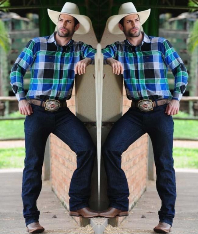 moda sertaneja,moda masculina, dicas de moda,chapeu, camisa xadrez,moda country,moda goiana,padre bernardo,festa do peao,rodeio