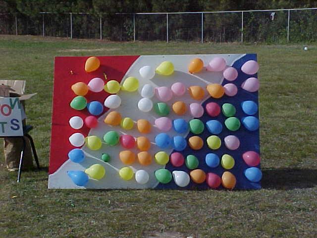 Game Balloon Darts Carnival