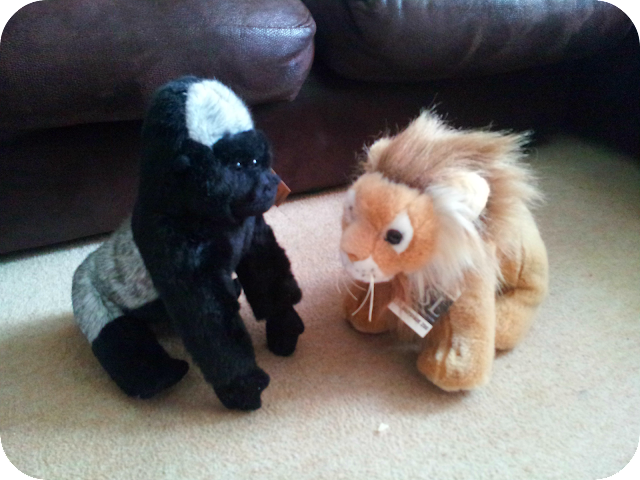 london zoo soft toys