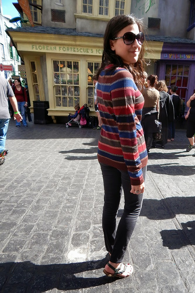 091cbb4338f outfit  Showing my Harry Potter Stripes