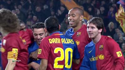 LFP-Week-19 : Barcelona 5 vs 0 Deportivo 17-01-2009
