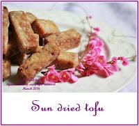 sun dried tofu