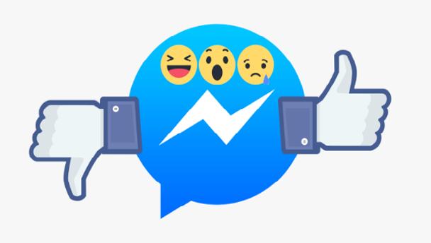 """فيسبوك تطلق رسميا زر """"لا يعجبني"""" على تطبيق مسنجر"""