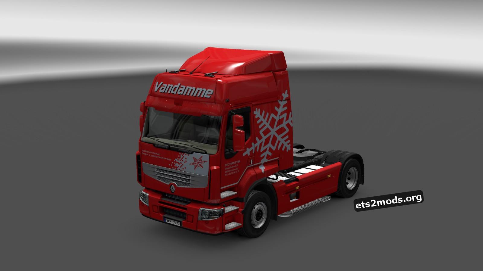 Company Pack Decovan BVBA Vandamme Skins