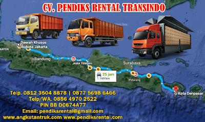 Angkutan Truk Jakarta Denpasar