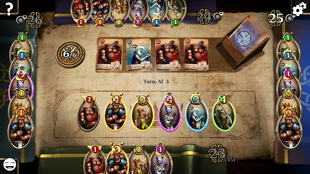 Screenshot from Harald: A Game of Influence (Steam version)