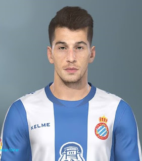 PES 2019 Faces Marc Roca by Lucas Facemaker