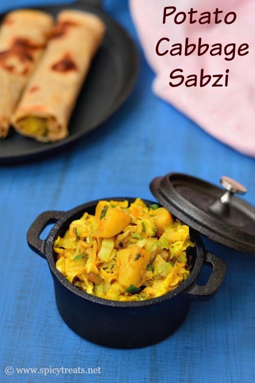 Cabbage Aloo Sabzi