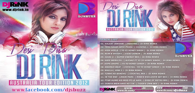 DESI DIVA BY DJ RINK - AUSTRALIA TOUR EDITION 2012