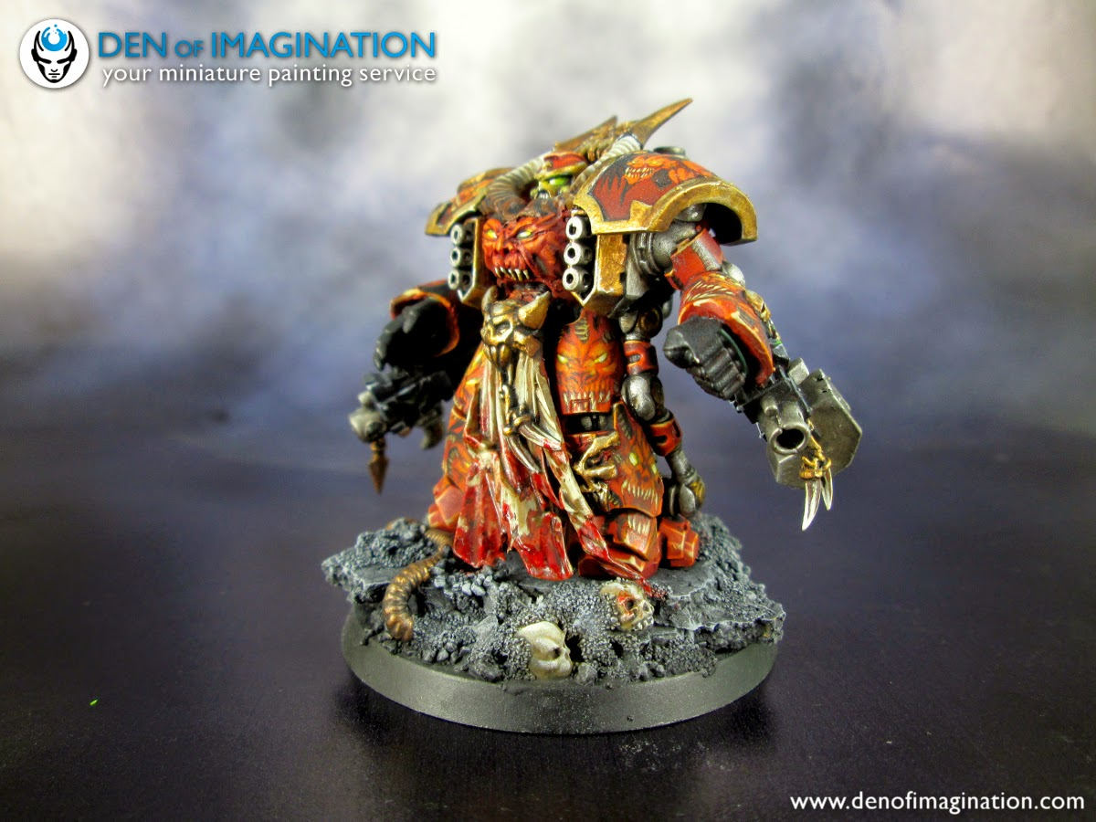 8932aa9a3976 Blog - Daemon Engines of Khorne. Just finished.