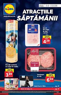 CATALOG LIDL 21 - 27 ianuarie 2019 Atractiile Saptamanii