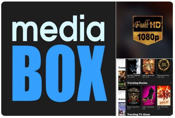 تطبيق مشاهدة الأفلام السينمائية والمسلسلات التلفزيونية بدقة HD , MediaBox HD , المشاهدة بدقة HD , الواي فاي وchromecast , roku ,  firetv ,