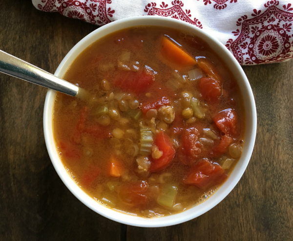 Vegan Lentil Soup - Welcoming Kitchen (Allergen-free and Gluten-free)