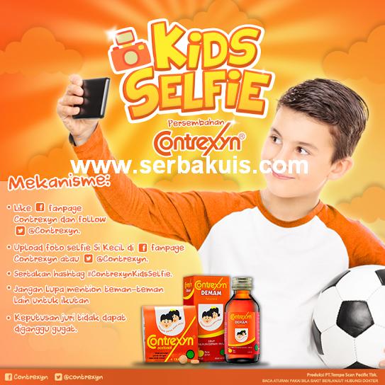 Kids Selfie Contest Berhadiah Menarik dari Contrexyn