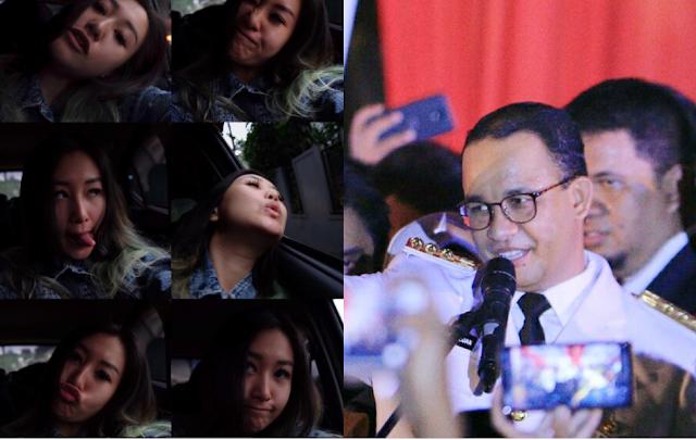 "Artis ""Anak Jalanan"":  Woy Anies, Jakarta Macet!"