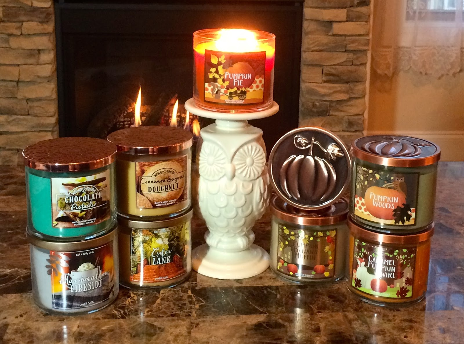 blue skies for me please bath body works fall candle haul 2016. Black Bedroom Furniture Sets. Home Design Ideas