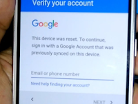 Cara Mengatasi Lupa Akun Email Samsung J1 2016 Tanpa PC