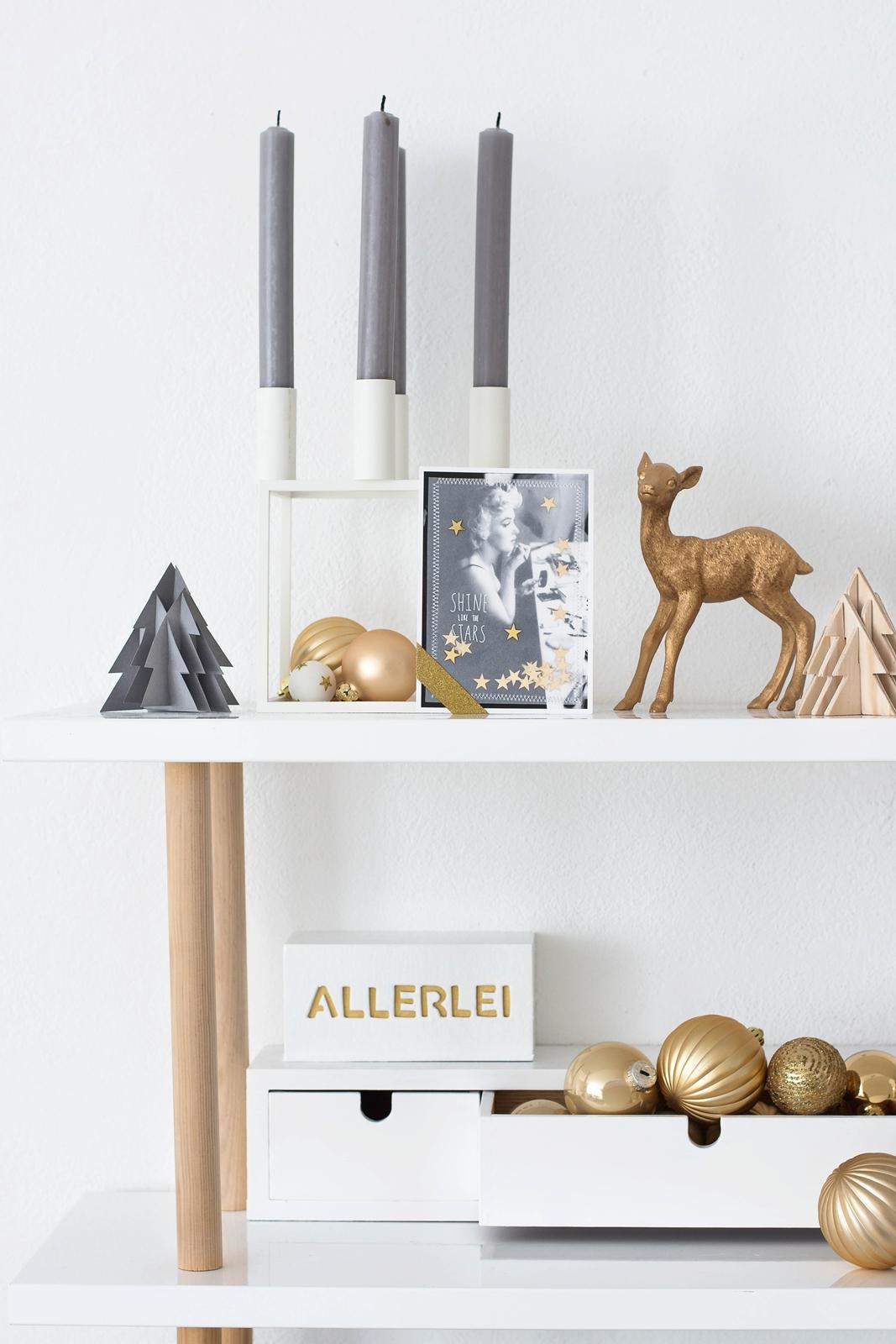 Nostalgische Weihnachtskarten selbermachen