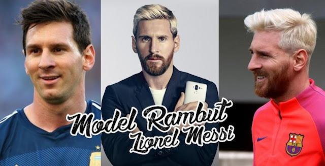 Model Rambut Lionel Messi Paling Populer