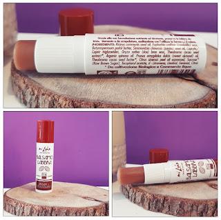 Cosmétiques Bio chocolat baume lèvres