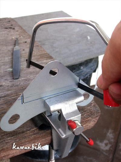 kawanbike: DIY Cat Stove, Stabilizer & Mini Windshield for