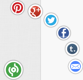 ازرار المشاركة عبر الشبكات الاجتماعية عائمة