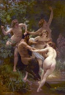 Las diosas Olimpicas Las Ninfas