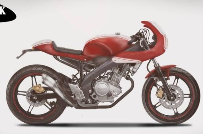 Koleksi 77 Modifikasi Motor Vixion Cafe Racer Terbaik Dan