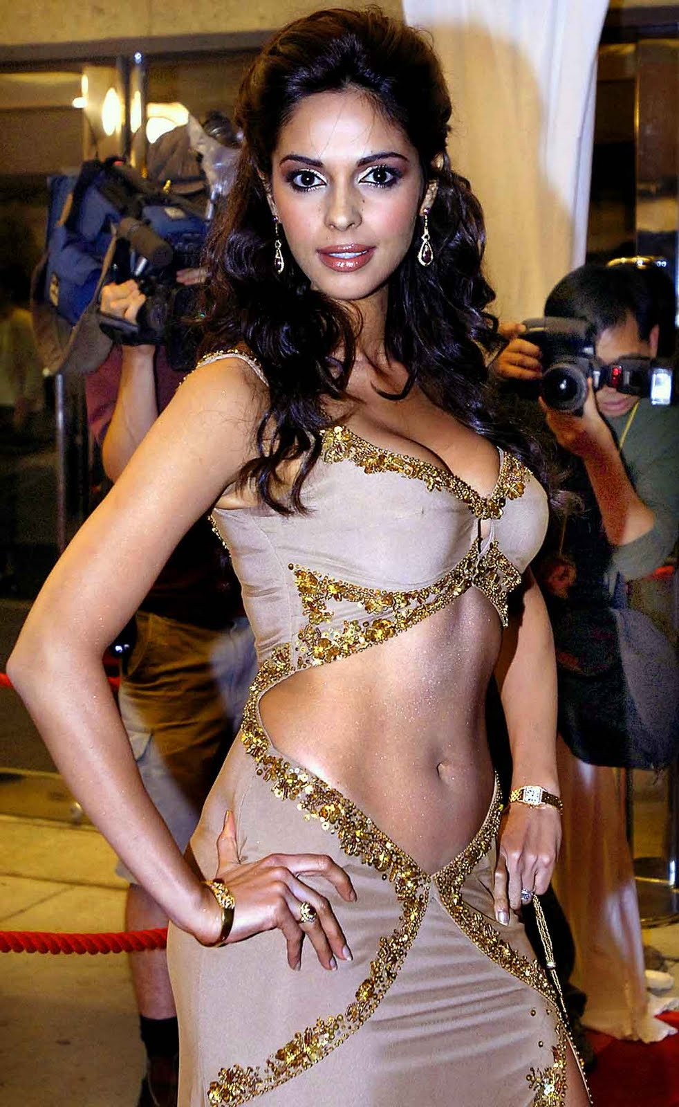 You thanks Mallika sherawat face was and