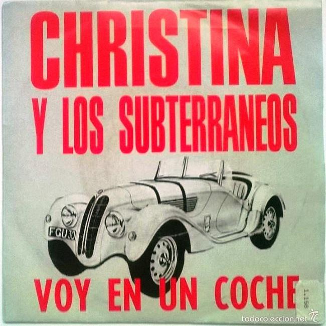Cristina y los Subterráneos. Voy en un coche